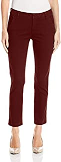 LEE 女式 Petite 现代系列中腰修身 Linea 及踝裤