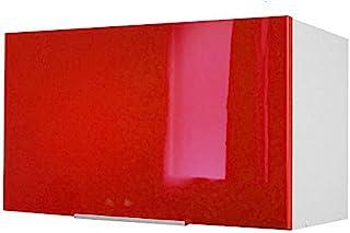 Berlioz Creations 橱柜厨房门,Rouge Haute Brillance,60 x 34 x 35厘米