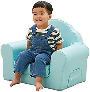 儿童用婴儿沙发【国际检查 婴儿椅 】ALZIP mat (阿尔拉链垫) GG_sofa 宝宝 隔音 防水 防噪音 客厅 儿童房间 * 幼儿园 托儿所 儿童空间 (蓝色)