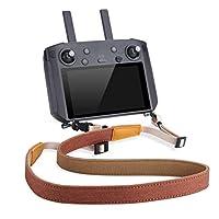 SEASKYRC 掛繩適用于 DJI 智能控制器 Mavic 2 Pro/Zoom Mavic Air 2 無人機遙控器肩帶頸帶配件 [棕色]