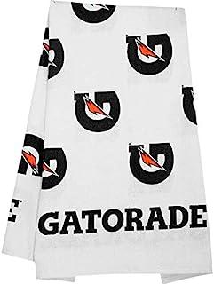Gatorade 高级白色边线毛巾