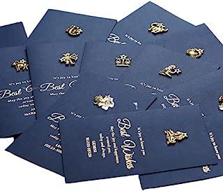 贺卡分类 - 12 张星座生日卡 - Thinking of You 卡片,适合女士、男士、儿童、妈妈、姐妹和朋友(12 张卡片和信封)