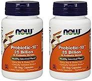 NOW Foods 诺奥 益生菌-10 250 亿,50 粒素食胶囊(100)