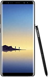 Samsung 三星 Galaxy Note 8 GSM LTE 解锁 Android 手机,带双1千2百万像素相机-午夜黑,64GB