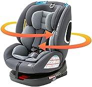 アイリスプラザ(IRIS PLAZA) ISOFIX 固定 儿童安全座椅 旋转式 新生儿起 青少年座椅 婴儿座椅 上下班 ECE R44合格 黑色 0个月~ 4571303934027
