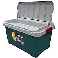 IRIS 爱丽思 双盖600系列后备箱储物箱 灰绿色