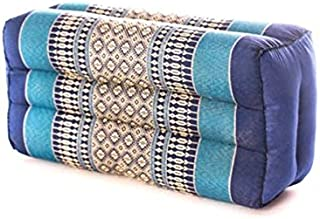 Zafuko Yoga、Meditation、Kundalini 和 Pilates 垫子 (Zafu) 块状、垫料、地板枕、道具 * 有机卡波克纤维填料 - 小块