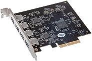 Sonnet Allegro Pro USB 3.1 PCIe 卡(4 x 10 GB 充电端口)