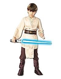 Star Wars Child's Deluxe Jedi Knight Costume 如图所示 小号