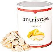 Nutristore 冷冻香蕉干   25年保质期   惊人的口感   *零食   应急和生存食品