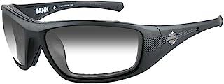 Harley-Davidson 哈雷戴维森 男士背心太阳镜 烟灰色 镜片/哑光黑框 HDTAN05