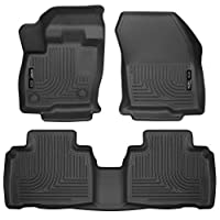 Husky Liners Front & 2nd Seat Floor Liners Fits 15-18 Edge