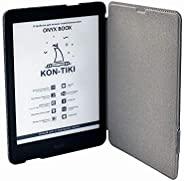 Onyx Boox KON-Tiki 黑色电子阅读器 + 保护套,3+32Gb, E Ink Carta Plus,7.8 英寸触摸,月亮灯 2
