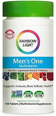 Rainbow Light 男性复合维生素片 150粒