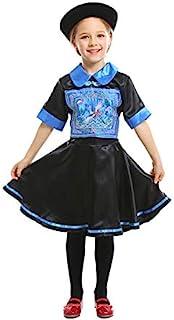 女孩万圣节服装清朝僵尸服装恐怖服装角色扮演复古连衣裙