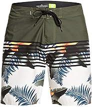 Quiksilver 男士 Everyday Lightning 17 英寸沙滩裤