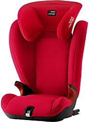 Britax 宝得适 Römer KIDFIX SL 黑色系列 儿童汽车安全座椅,组别2/3,3.5至12岁/15-36kg,火红色