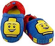 LEGO 积木男童幼儿毛绒 Aline 拖鞋,防滑橡胶鞋底