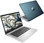 Google Chromebook HP 笔记本电脑 14.0型 全高清 IPS触屏 日语键盘 英特尔® Celeron® N4020 14a 限定色