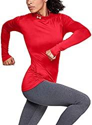 Under Armour 安德玛 Coldgear 女式立领长袖运动衫