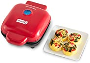 Dash DBBM450GBRD08 豪华 Sous Vide Style 鸡蛋咬合机,带硅胶模具,适用于早餐三明治、零食或甜点,Keto & Paleo 友好(1 个大号,4 个迷你