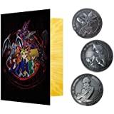 游戏王! KON-YGO153 限量版相册 附带3个硬币