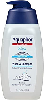 Aquaphor 婴儿沐浴乳 & 洗发水 25.4 fl oz