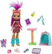 Cave Club GNL95 – 野猫乐趣与Roaralai 玩具套装 & 娃娃和配件,过去旅行,4岁