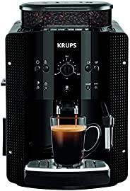 Krups 全自动咖啡机(1.8 升,15 巴,卡布奇诺 Plus - 喷嘴) 黑色