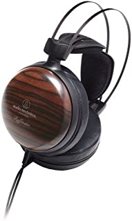 Audio-Technica ATH-W5000 Raffinato 系列高保真封闭式耳机 - 条纹乌木