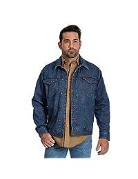 Wrangler 男士隐形携带无衬里牛仔夹克