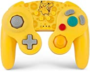 PowerA 宠物小精灵无线官方授权GameCube游戏手柄/任天堂明星大乱斗系列-皮卡丘