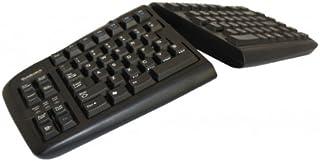 Bakker BNEGTBUS Elkhuizen Splittastatur 美国金触摸书 V2,英语键盘布局黑色