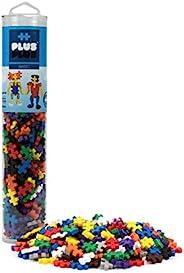 PLUS PLUS - 240 块基本混合物 - 建筑建筑杆/蒸汽玩具,儿童迷你拼图