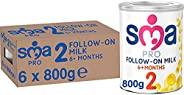 SMA Nutrition PRO Follow-On 奶粉,800克(6件装)