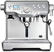 Sage Appliance 意式浓缩咖啡机 Mit Drehregler, Milchschaumregulierung und Druckanzeige Manuelles Tampern und Milchaufs