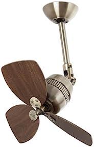 Faro Barcelona Vedra 33450 - 风扇无灯,铝和叶片木材 MDF