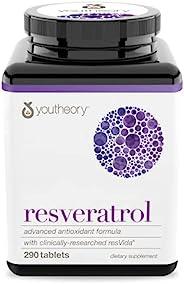 youtheory Resveratrol Advanced Anti-Aging Formula, 290ct
