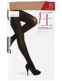ATSUGI 厚木 紧身裤袜 ASTIGU 【圧】塑形发热紧身裤袜 80但尼尔〈3双装〉