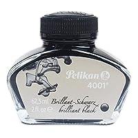 Pelikan 百利金 4001钢笔瓶装墨水,亮黑色,62.5ml,1件装(329144)