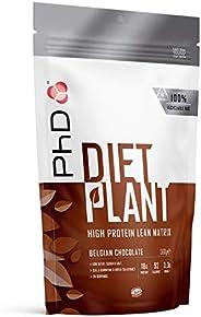 PhD Nutrition 饮食植物,蛋白粉,比利时巧克力味,500克