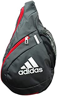 Adidas 阿迪达斯 单肩包 斜挎包 儿童 小学生 足球 足球 斜挎 球类 男士 女性 男女通用 球包 斜挎包 AKM35