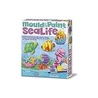 4M 石膏彩模系列 创意美术手工DIY玩具 海洋世界