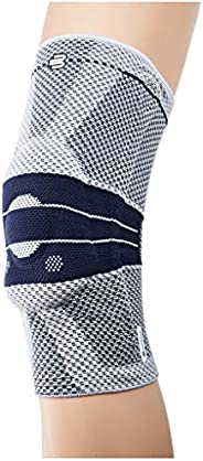 Bauerfeind 护膝 GenuTrain 中性款,用于受伤、*或*骨*(关节磨损)或*后的缓解、稳定和激活,银灰色