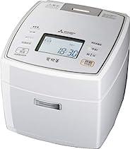 MITSUBISHI ELECTRIC 三菱电机 IH电饭锅 备长炭 5.5合 日本制 纯白色 NJ-VX108-W 需配变压器