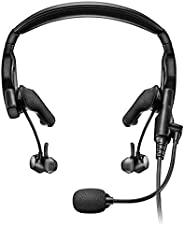 Bose Proflight 系列 2 航空耳机,带蓝牙连接,双插头电缆,黑色