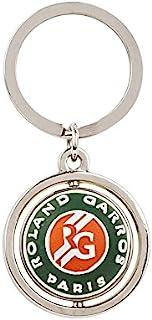 Roland Garros RPCU0717-MLT-TU 中性成人中性钢钥匙圈,多种颜色,均码