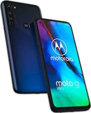 "Moto G Pro带手写笔(128GB,4GB)6.4"" HD+,NFC,Snapdragon 665,4000 mAh电池,双 SIM GSM 解锁(T-Mobile,AT&T,Metro)全球 4"