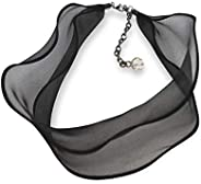 MizArt 雪纺独特颈链 女式 - 适合日常、婚礼、纪念日、聚会、约会 - 带吊坠的*礼物