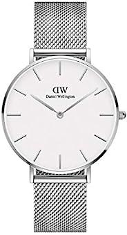 Daniel Wellington Petite Sterling Watch, Silver Mesh Bracelet